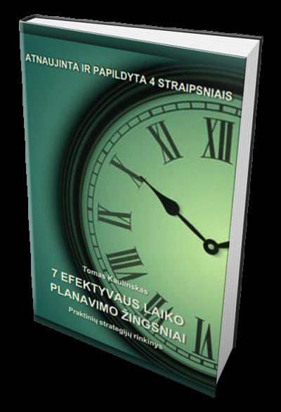 7, efektyvumo, laiko, planavimo, žingsniai
