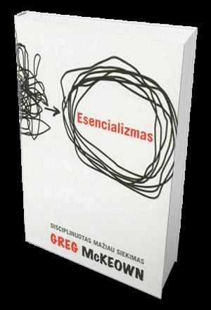esencializmas, knyga,