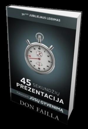 45, sekundžių, prezentacija, knyga, lietuvių, kalba