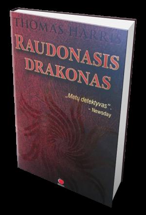 raudonas, drakonas, knyga, lietuviska
