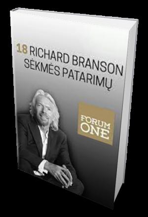 18 richard, branson, sėkmės, patarimų
